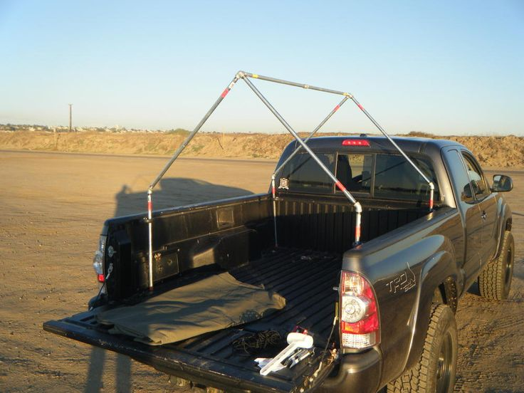 Pickup Truck Bed Tent >> DIY Military Style Truck Bed Tent under $300 | camp | Truck bed tent, Truck tent, Truck camping