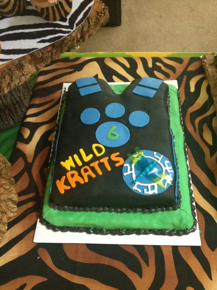 Wild Kratts Comfort Cupcakes Cake Birthday Parties