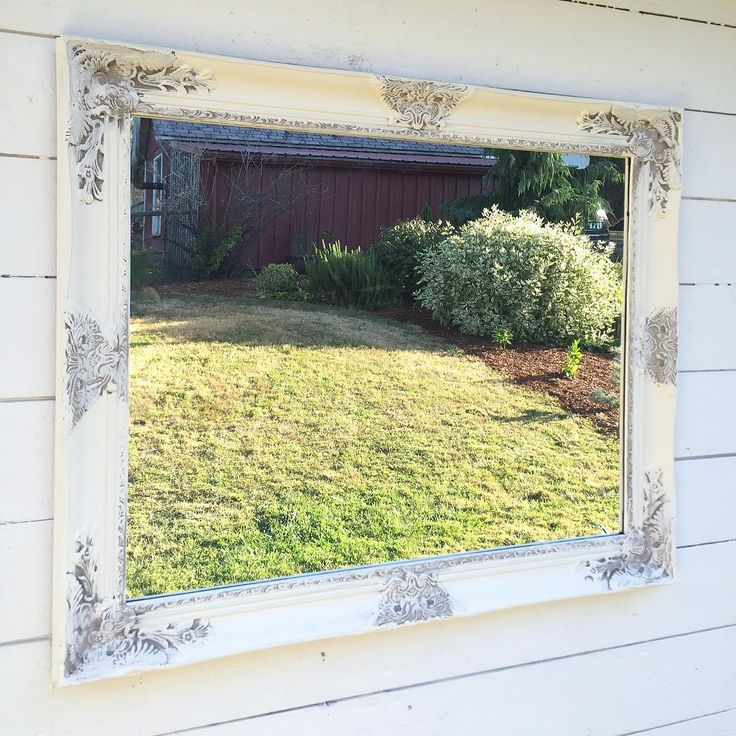 Photos On So awesome when others will share my custom mirrors White Bathroom MirrorFramed