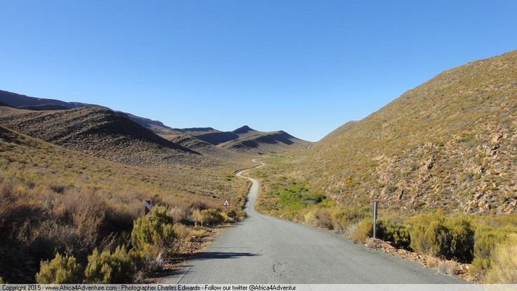 Check out that road twisting into the distance between the mountains. You gotta ride the #Cederberg!