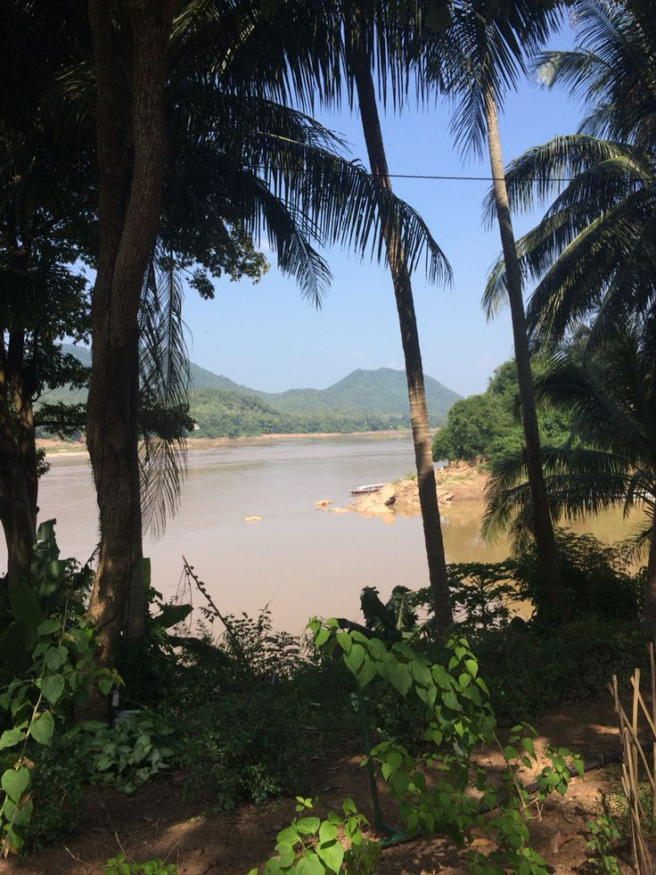 Confluence of Nam Kahn and Mekong Rivers