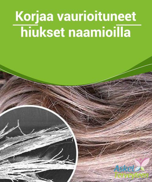 Korjaa vaurioituneet hiukset naamioilla  Näiden naamioiden sisältämät luonnolliset ainekset sopivat täydellisesti hiusten ravitsemiseen ja uudistamiseen. Vahvistaaksesi hoitavien naamioiden vaikutusta, kääri hiukset pyyhkeeseen tai peitä ne suihkulakilla naamion levittämisen jälkeen – näin vaikuttavat aineet pääsevät tunkeutumaan syvälle hiuksiin.