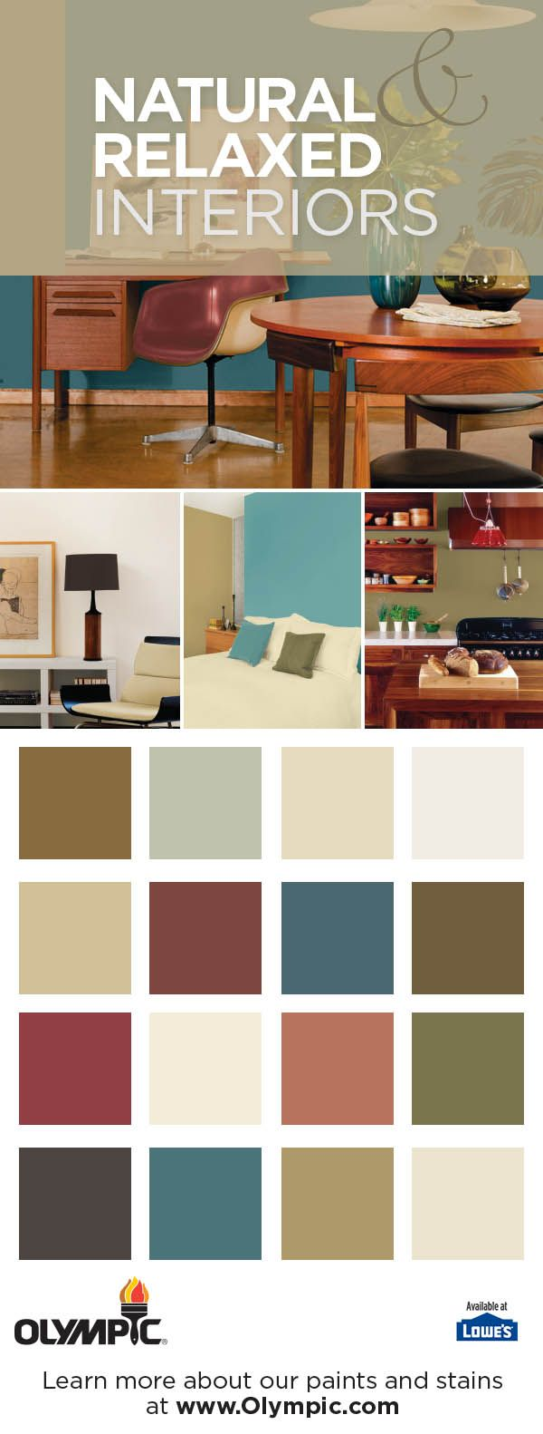 Sweet Spiceberry Paint Living Room Olympic