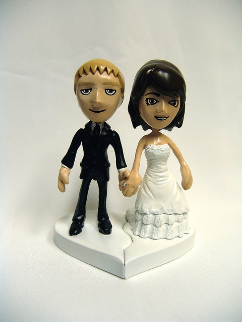 Xbox Avatar Wedding Cake Topper