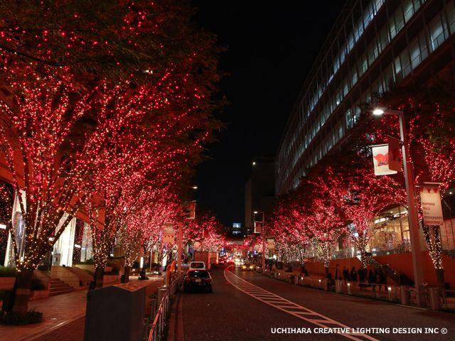 けやき坂 冬のイルミネーション 2014年12月26日(金)~2015年2月15日(日)