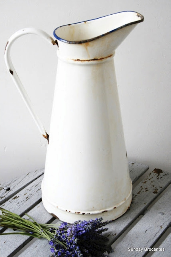 Vintage French Enamel | Second Shout Out, hope to find one someday