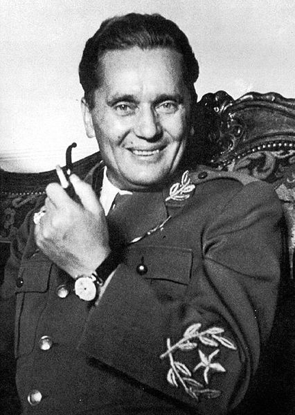 Tito, Marshal Josip Broz (1892-1980). Josip Broz served with the Austrian infantry in the First World War and was captured by Russian forces in the Carpathians in 1915. By the summer of 1917 he had escaped and joined the revolutionaries in Petrograd. After returning to Yugoslavia, he was jailed for six years for his membership of the illegal Yugoslav Communist Party.