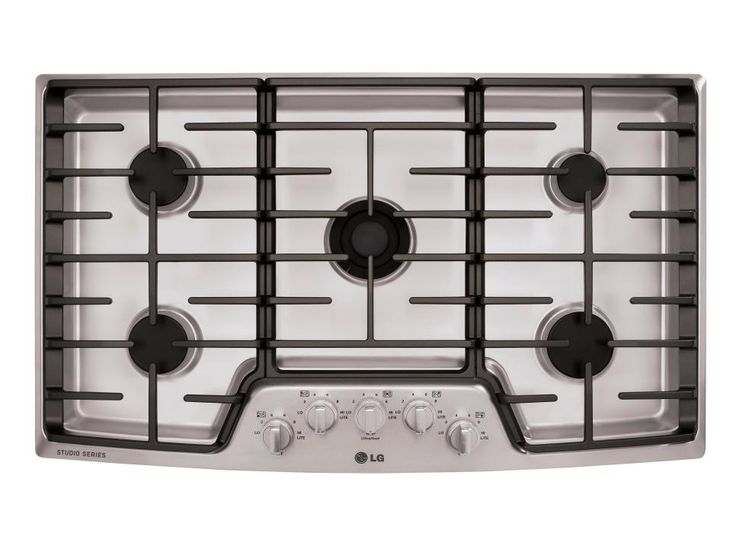 Consider design and fuel type when shopping for a kitchen cooktop