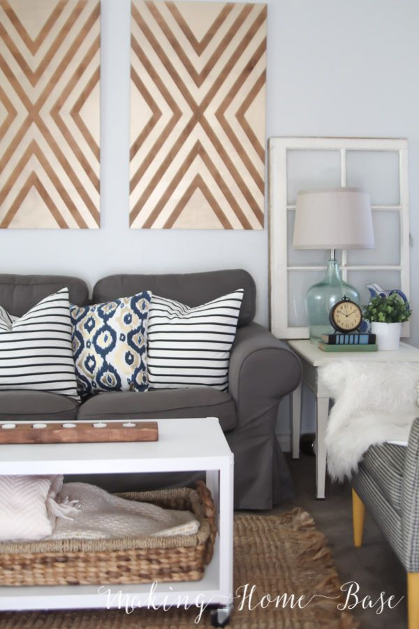 Large DIY Wall Decor Ideas (lots Of Renter Friendly Options, Too!)