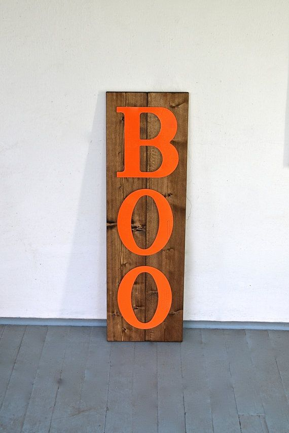 1000 ideas about wooden halloween decorations on for Large wooden blocks for crafts