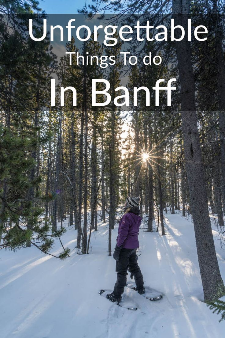 Best things to do in Banff, Canada