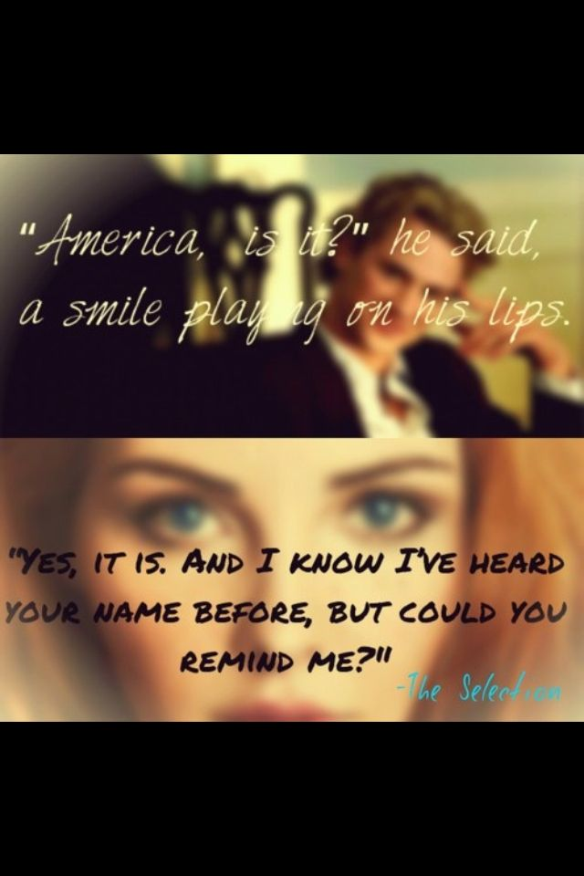 #The Selection#America Singer#Maxon Schreave
