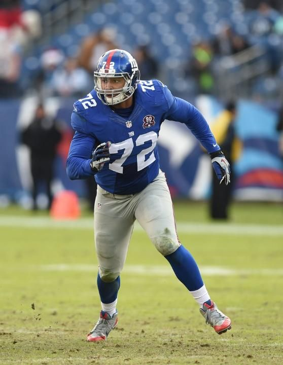 Notable Undrafted rookies to make final Giants roster