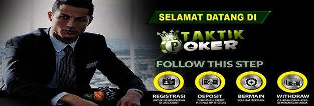 Taktikpoker agen poker online uang asli terpercaya – Taktikpokeragen poker online Indonesia terpercaya yang memberikan permainan poker online, domino99, dan capsa susun online menggunakan uang asli. Daftarkan ID anda sekarang juga di taktik pokeragen poker online yang memberikan permainan bebas BOT. SUPPORT BANK BCA BRI BNI DANAMON MANDIRI ARTHA GRAHA DEPOSIT : IDR […]