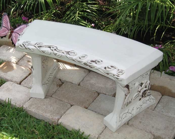 25 unique Concrete garden bench ideas on Pinterest Patio ideas