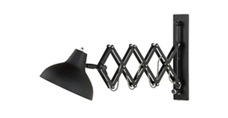 Frosini, une applique, noir   made.com