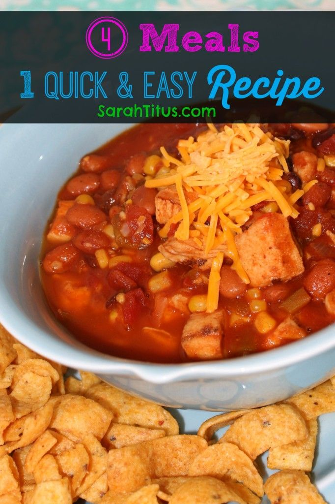 ... meals 1 quick amp easy recipe taco soup dip chili dogs rice amp beans