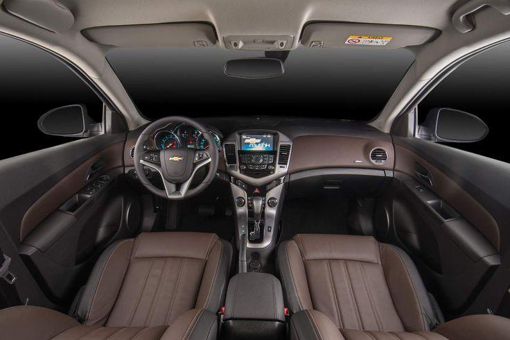 2015 Chevrolet Cruze Interior   interior do GM Cruze Sedan 2015 agora conta com o revestimento em ...