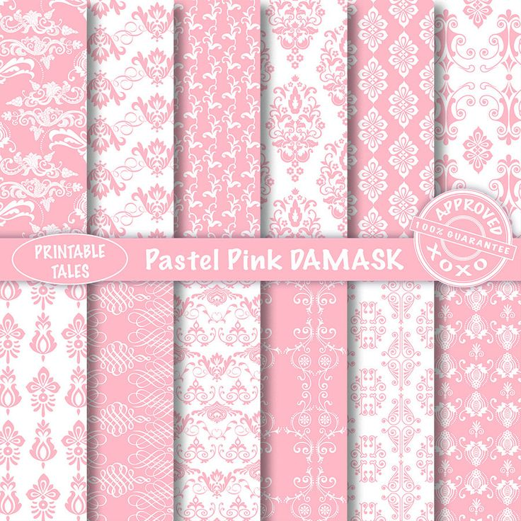 Plakboek-pagina's damast digitale Papers Royalty gratis onbeperkt commercieel gebruik, Pastel roze wit, duiven, druiven, bloemen, ambachtelijke decoupage papier door PrintableTales op Etsy https://www.etsy.com/nl/listing/269125829/plakboek-paginas-damast-digitale-papers