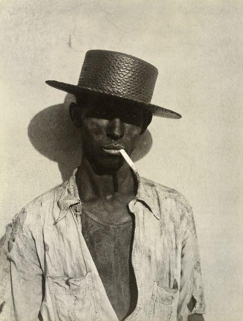 Walker Evans. American, 1903 - 1975 'Coal Stevedore, Havana' 1933