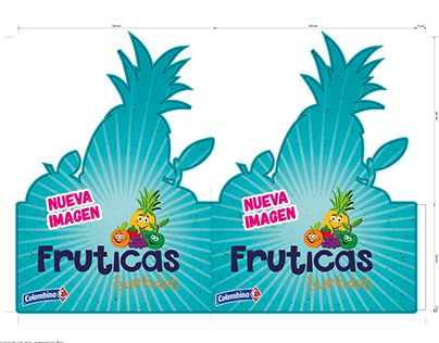 "Check out new work on my @Behance portfolio: ""Rediseño de Marca Fruticas y…"
