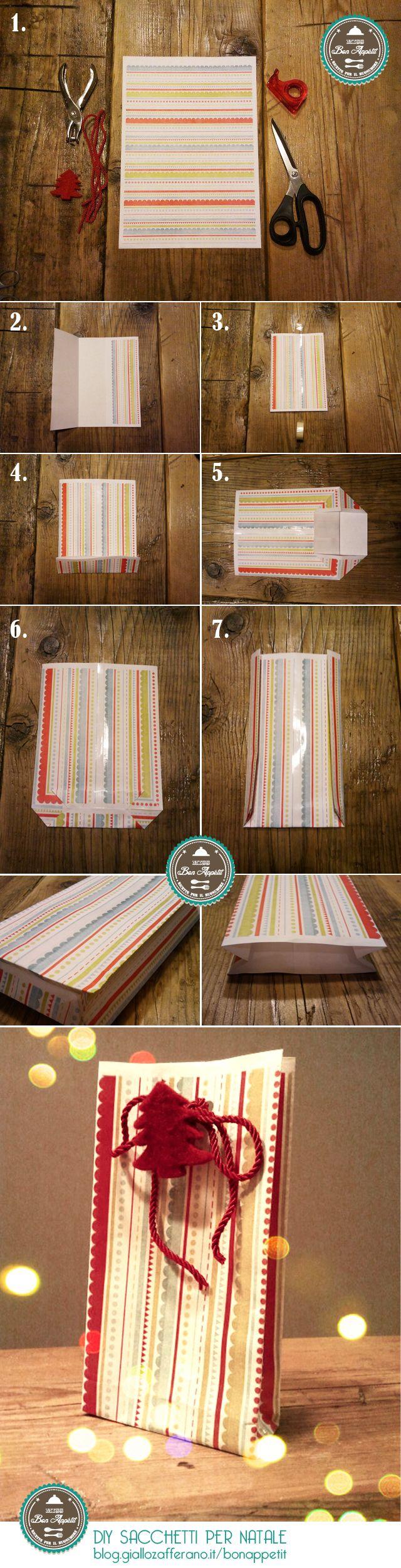 DIY Confezioni regalo Natalizie