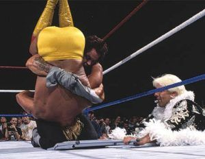 WWE says #Farewell2ThJoe tonight. @BrianHWaters looks at some of the Joe Louis Arena's greatest WWE and WCW moments   #hulk hogan #Joe Louis Arena #Steve Austin #the rock #WCW #Wrestling #WWE