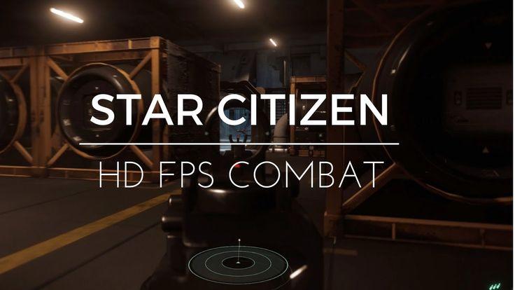 Star Citizen FPS space combat test | 2.6.1 GTX 1060 6GB