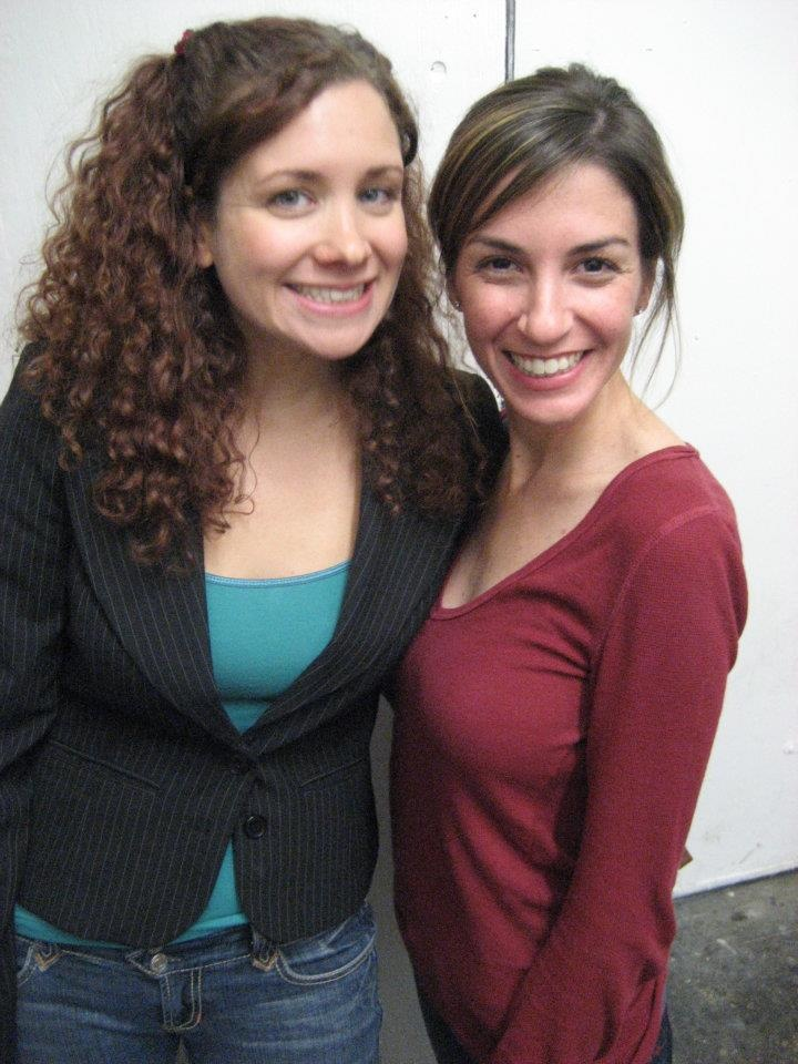 Dannah Phirman and Danielle Schneider - now