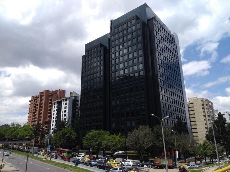 Edificio Itaú, de la calle 100 con carrera 7a en Bogotá.