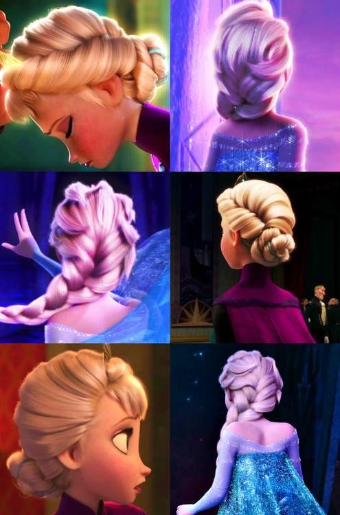 Elsa's hair