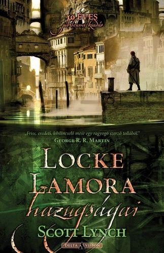 [90%/142] Camorr városa épp olyan, mint középkorunk Velencéje - leszámítva furcsa és felkavaró épületeit, melyeket egy ősi, idegen faj emelt, az árnyékukban megbúvó méregkeverő fekete alkimistákat és a mindenki által rettegett varázslókat. Ebben a városban él az ifjú Locke Lamora, aki csak annyiban emelkedik Camorr több százezer lakója fölé, hogy bármelyiküket bármikor képes becsapni művészetté fejlesztett szélhámosságával. Senki sem sejti, hogy a legendás Camorr Tövise, a legyőzhetetlen…