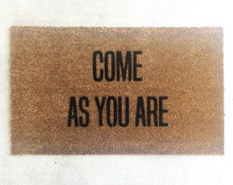 Made to order The Original Bye Felicia Doormat.
