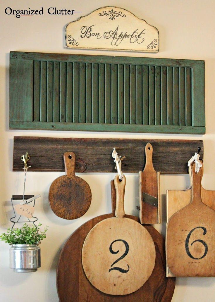Repurposed Vintage Kitchen Ware Planter kitchenware