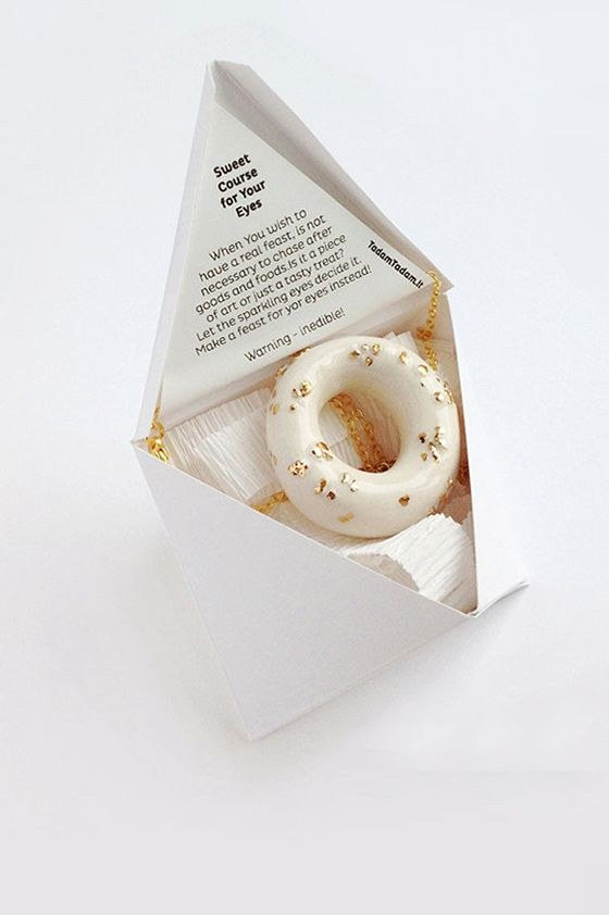 TADAM Jewelry inedible but lovely #packaging PD