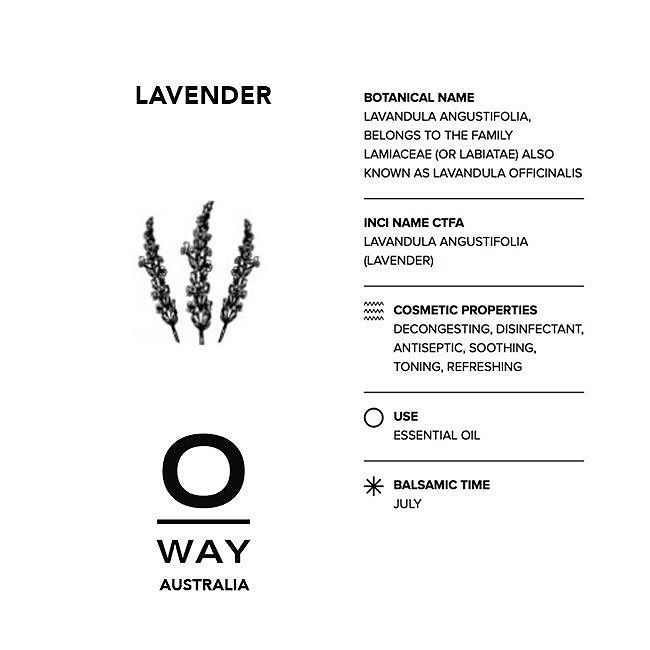 One of our 0kms essential oils comes from the lavender grown on our 50000 sq metre biodynamic farm OrtOfficina which is perceived as an ecosystem where human beings plants and animals live in synergy and harmony.#biodynamic #oway #owayaustralia #essentialoils #hair #organichair #cleanliving #brisbanehair #sydneyhair #melbournehair