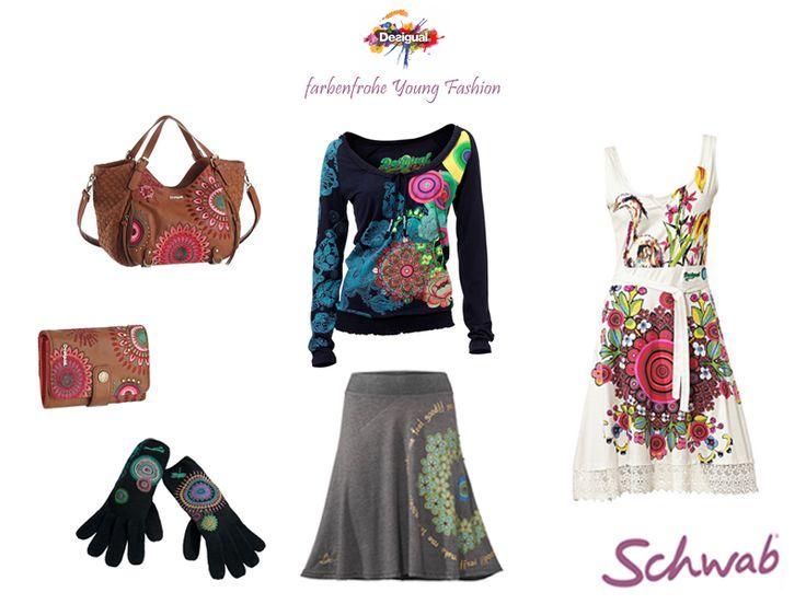 Farbenfrohe und trendige Mode von #Desigual