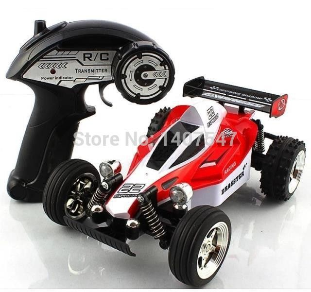High-speed off-road remote control with LED light charging remote drift car rc toy cars for boys