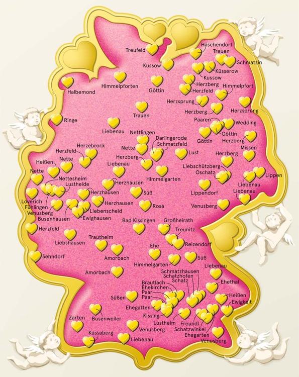 Ortsnamen voller Liebe; ZEITmagazin