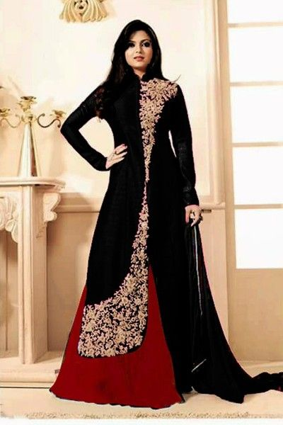 WOMENS EMBROIDERED BLACK DRESS  #Drashti #Dhami Salwar Suit Collection Online #celebrity #bollywood #shopping #clothing  #Salwar Suit #Buy Salwar Suits Online #Dresses Online Shopping #Salwar Suits Online Shopping get more details, visit: http://www.thankar.com Contact Us: +91-9978289000 Email: support@thankar.com