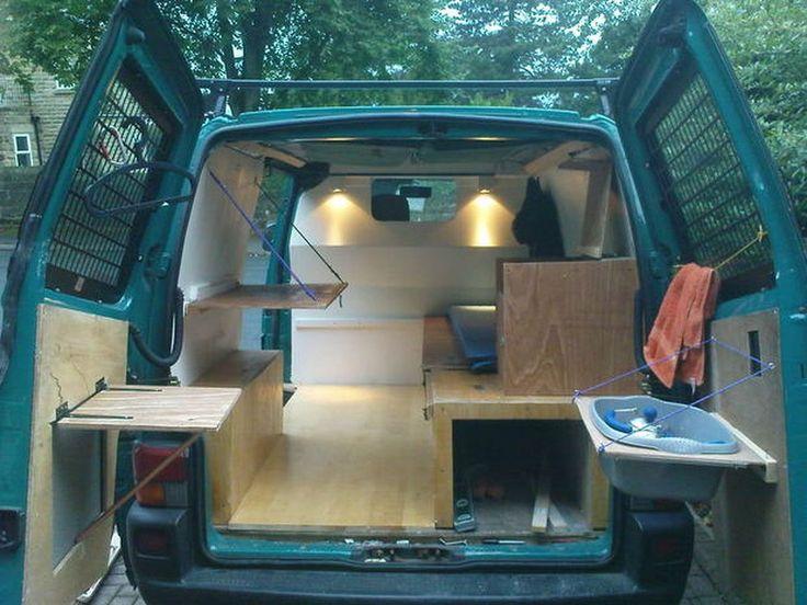 Camper Van Conversions DIY 36