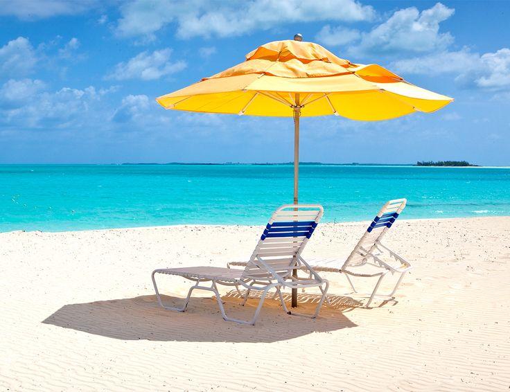 Relax and enjoy the pristine powdery white 3 ½ mile beach of Treasure Cay Beach, Marina & Golf Resort.