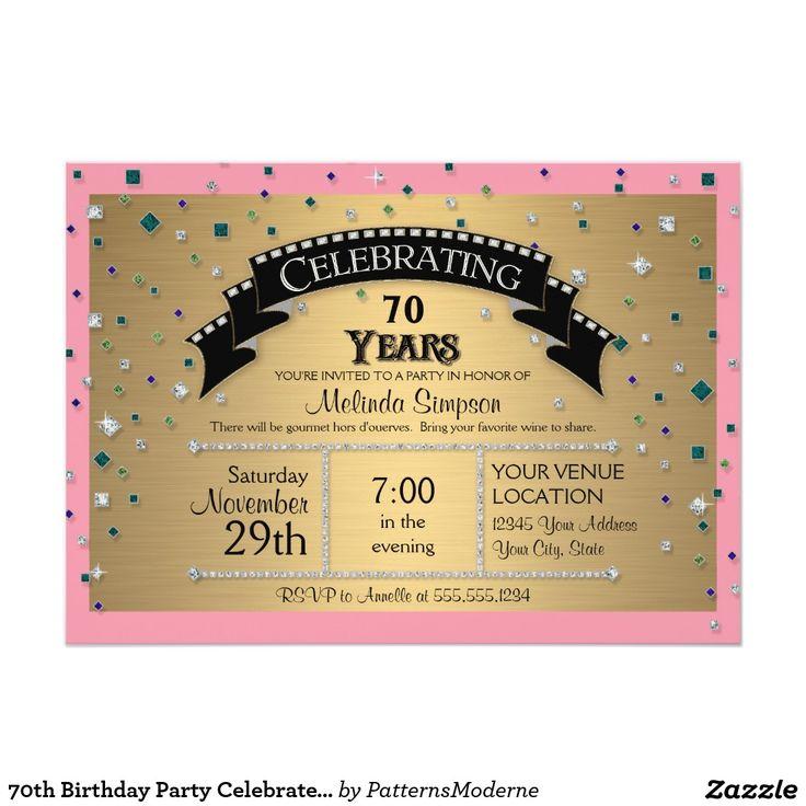 70.o La fiesta de cumpleaños celebra falso confeti