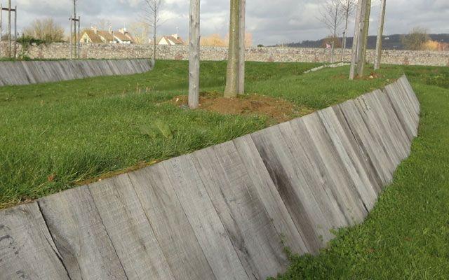17 meilleures id es propos de traverse bois sur for Bordure pour escalier exterieur