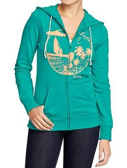 Women's Terry Beach Hoodies