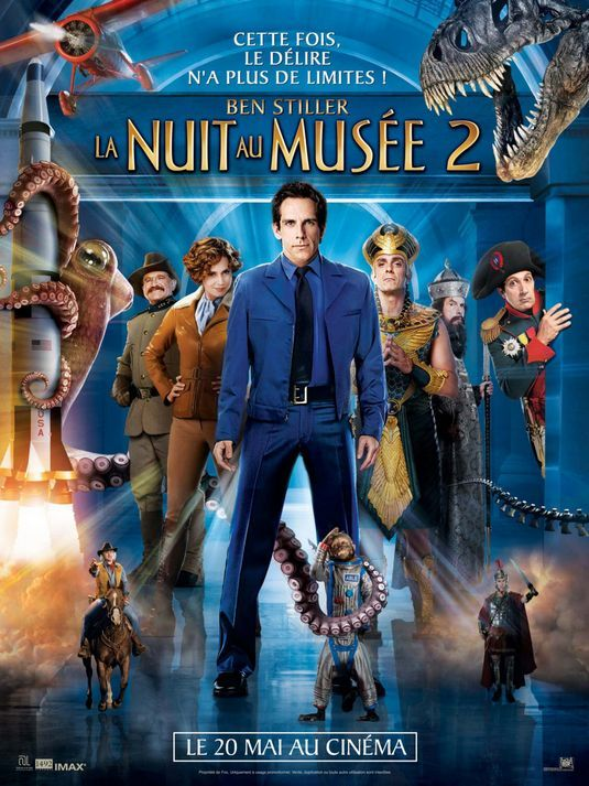 Muzede Bir Gece 2 - Night At The Museum 2 - 2009 - BRRip Film Afis Movie Poster