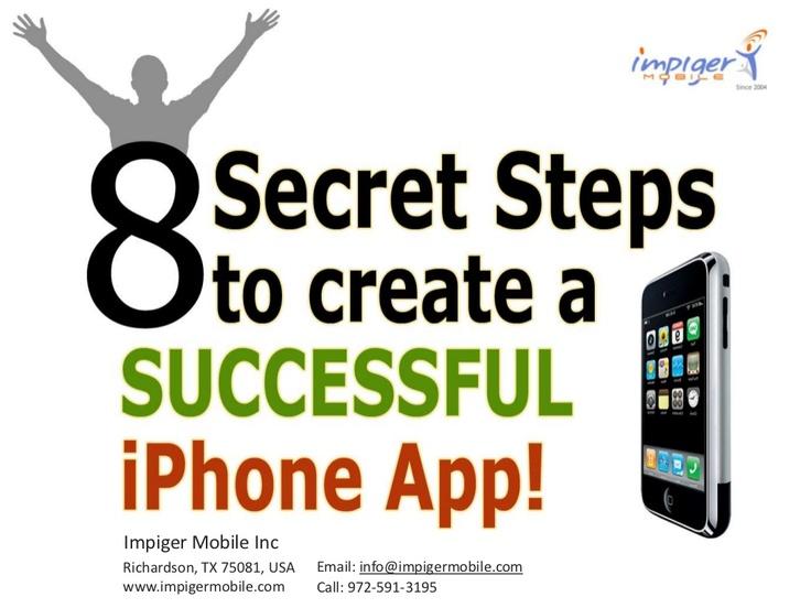 8 Secret Steps to a Successful iPhone App