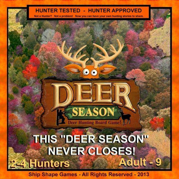 DEER SEASON board game is a new Deer Hunting by ShipShapeGames, $42.35