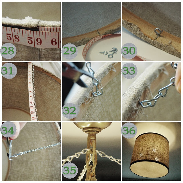 diy drum pendant light modern crafts diy lovin 39 pinterest
