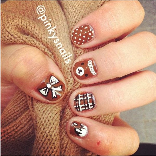 The 25 best brown nail designs ideas on pinterest designs for the 25 best brown nail designs ideas on pinterest designs for nails brown nail art and beautiful nail art prinsesfo Image collections